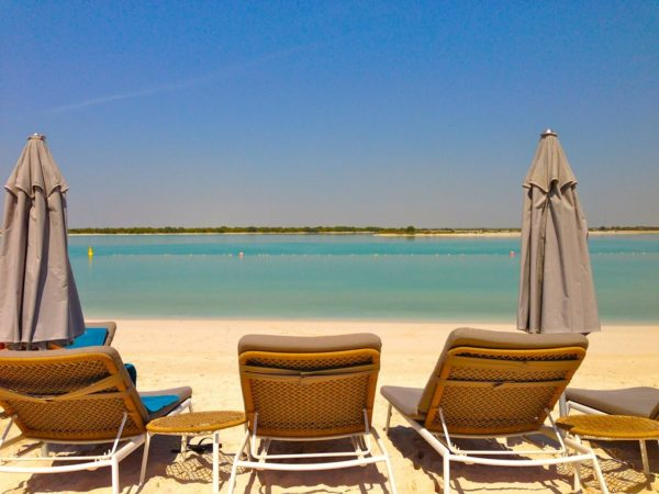 Пляжный отдых в Абу-Даби, ОАЭ