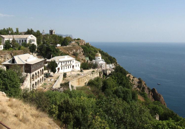 Свято-Георгиевский монастырь в Балаклаве, Крым, Россия