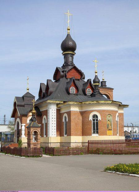 Церковь Серафима Саровского в Александрове, Владимирской области, России