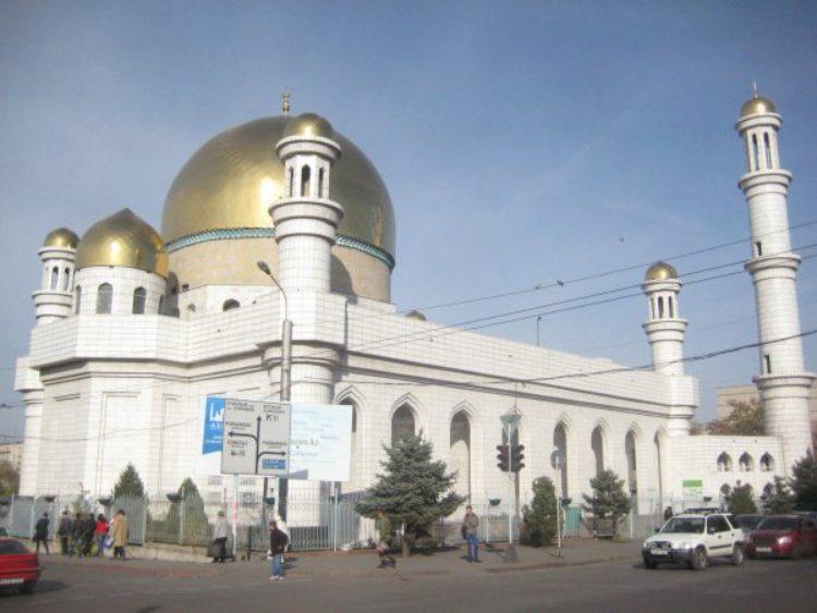 Достопримечательности Алма-Аты - Центральная мечеть