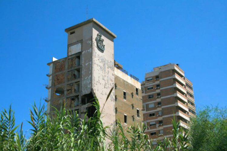 Закрытый квартал Вароша в городе Фамагуста на Кипре