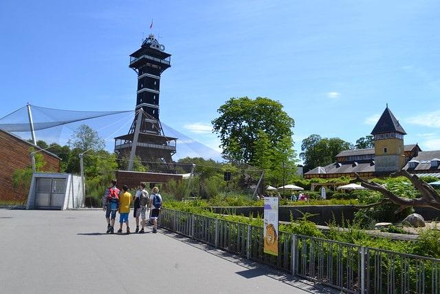 Копенгагенский зоопарк в Дании