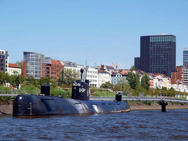Подводная лодка U-434 (русское название: Б-515) - достопримечательности Гамбурга, Германия