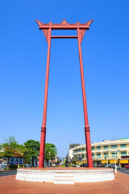 Что посмотреть в Бангкоке - Гигантские качели в Бангкоке
