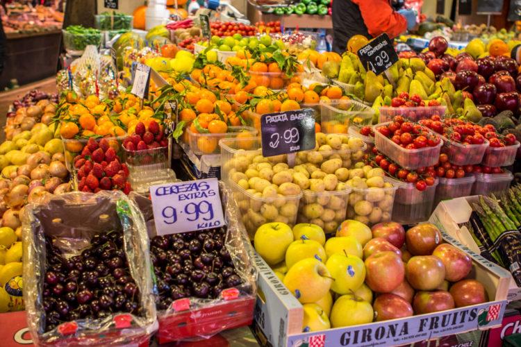 Рынок Бокерия в Барселоне - достопримечательности Барселоны