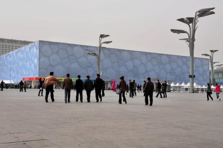 """Национальный плавательный комплекс - """"Водяной куб"""" в Пекине - достопримечательности Пекина"""