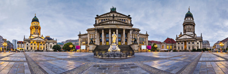 Жандарменмаркт в Берлине - достопримечательности Берлина