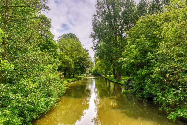 Что посмотреть в Брюгге -Парк у озера любви в Брюгге