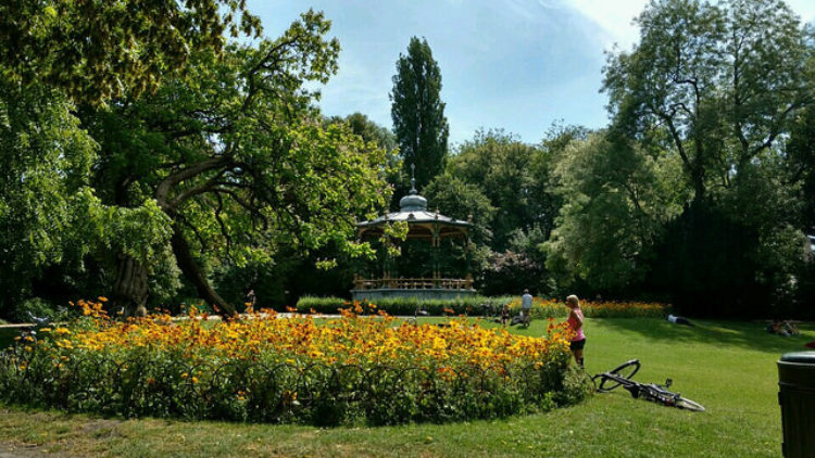 Что посмотреть в Брюгге - Парк королевы Астрид в Брюгге