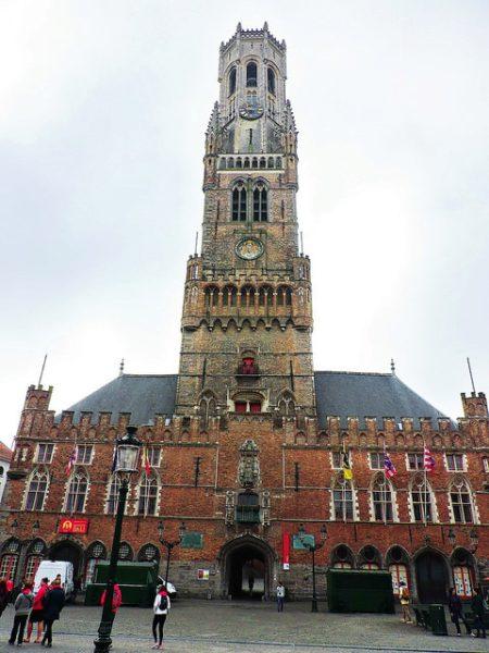 Колокольня Брюгге - достопримечательности Брюгге