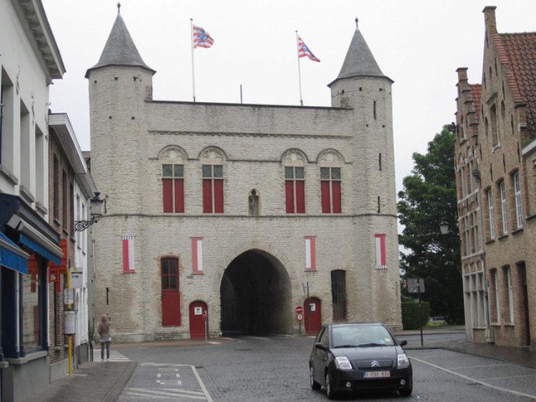 Ворота Святого Креста в Брюгге - достопримечательности Брюгге