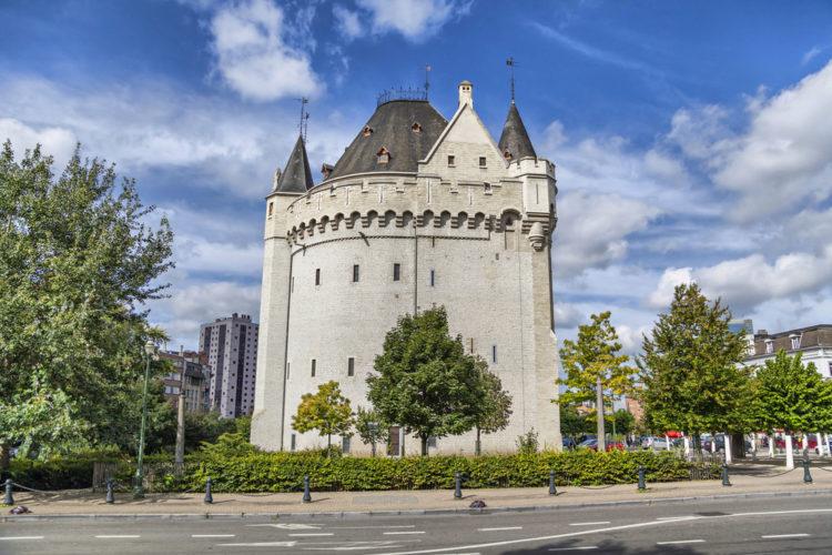 Халле порт, Porte de Hal (французский) или Hallepoort (голландский) - достопримечательности Брюсселя