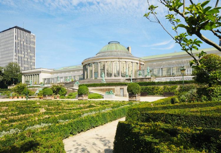 """Ботанический сад """"Le Botanique"""" в Брюсселе - достопримечательности Брюсселя"""