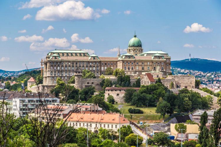 Будайская крепость - достопримечательности Будапешта, Венгрия