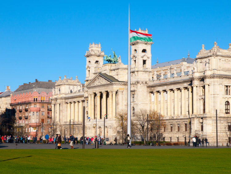Венгерский национальный музей этнографии в Будапнште - достопримечательности Будапешта