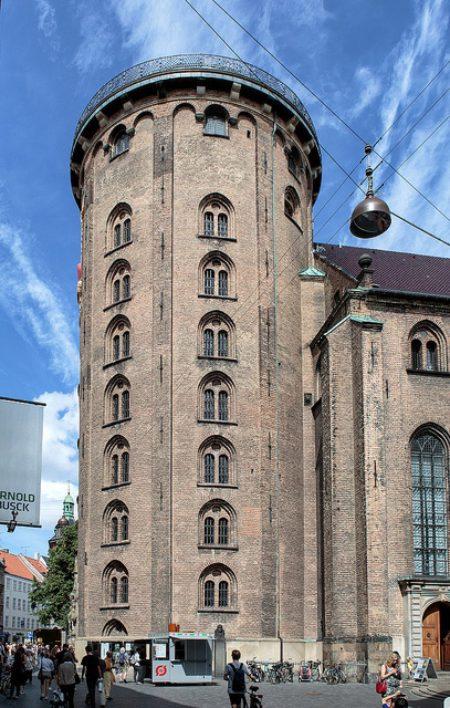 Круглая башня в Копенгагене - достопримечательности Копенгагена, Дания