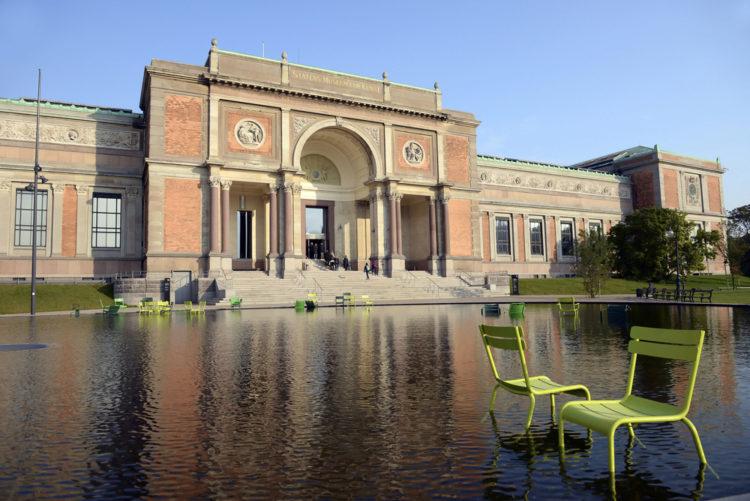Национальная галерея Дании - Национальный музей искусств - достопримечательности Копенгагена, Дания