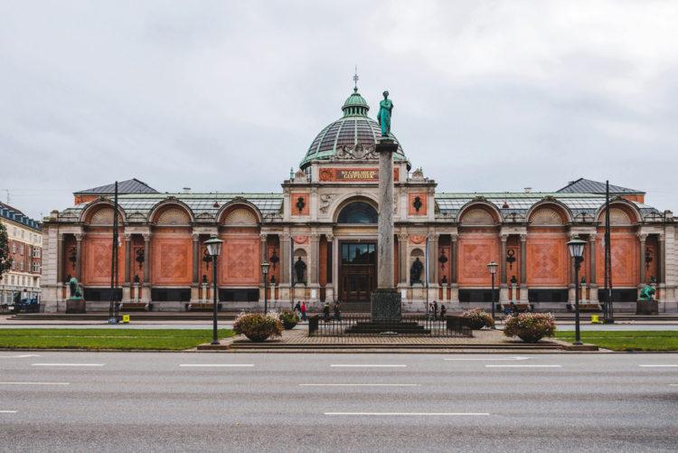 Новая глиптотека Карлсберга в Копенгагене - достопримечательности Копенгагена, Дания