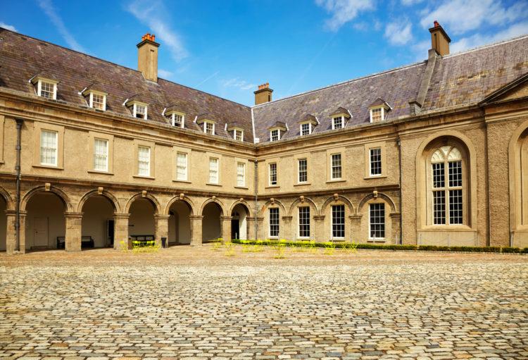 Ирландский музей современного искусства (IMMA) в Дублине - достопримечательности Дублина, Ирландия