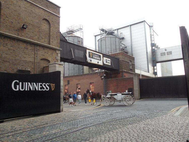 Музей пива Guinness в Дублине - достопримечательности Дублина, Ирландия
