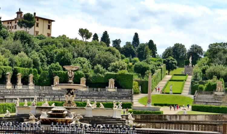 Сады Боболи (Boboli Gardens) во Флоренции - Что посмотреть во Флоренции