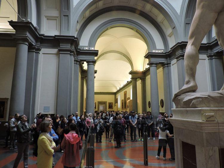 Галерея Академии ди Белле Арт во Фдлренции - достопримечательности Флоренции, Италия