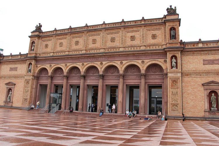 Hamburg Kunsthalle - художественный музей в Гамбурге - достопримечательности Гамбурга, Германия