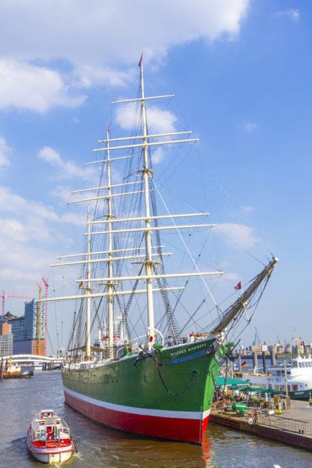 Парусник «Рикмер Рикмерс» в Гамбурге - Что посмотреть в Гамбурге