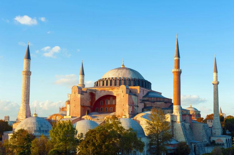 Собор Святой Софии в Стамбуле - достопримечательности Стамбула, Турция