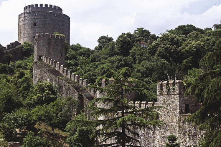 Румельская крепость, Румелихисар - достопримечательности Стамбула, Турция