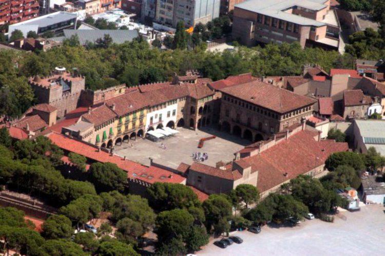 Испанская деревня (Poble Espanyol) в Барселоне - достопримечательности Барселоны, Испания