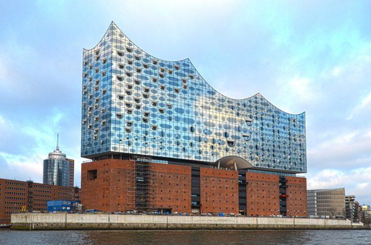 Эльбская филармония (Elbphilharmonie) - достопримечательности Гамбурга, Германия