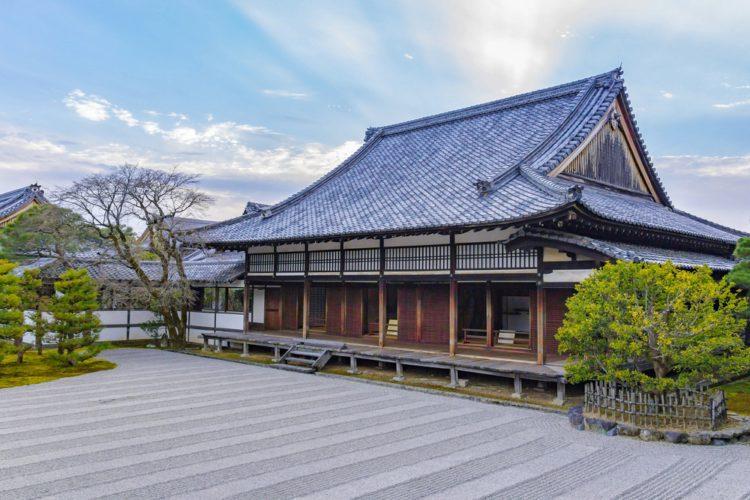 Храмовый комплекс Нинна-дзи - достопримечательности Киото, Япония