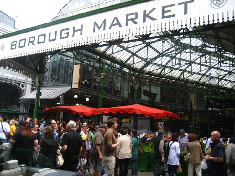 Рынок Боро («Боро-маркет») - достопримечательности Лондона, Англия, Великобритания