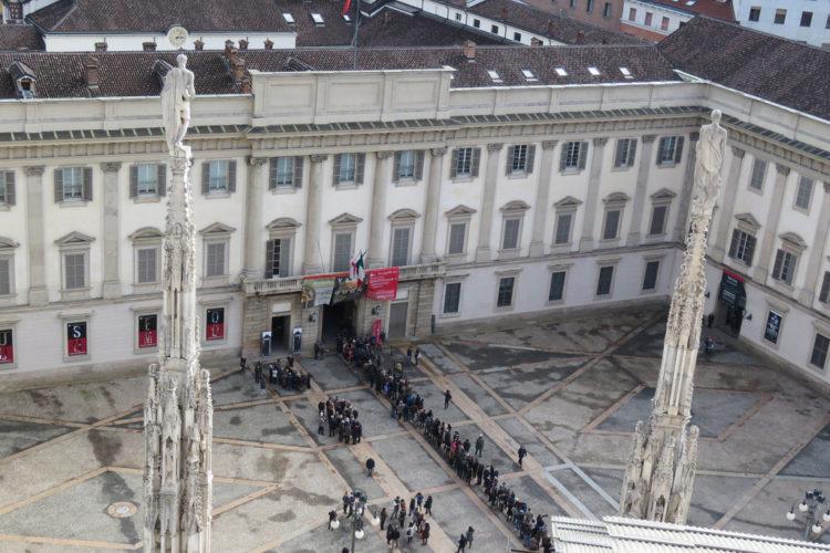 Королевский дворец в Милане - достопримечательности Милана, Италия