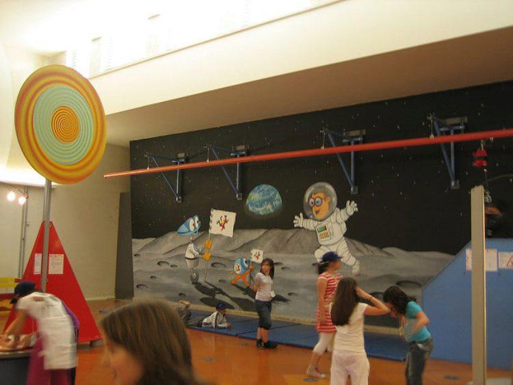 Павильон Знаний - Интерактивный Музей Науки в Лиссабоне - достопримечательности Лиссабона, Португалия