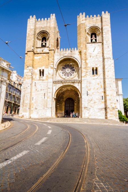 Церковь Святой Марии Всевышней или Лиссабонский собор - длстопримечательности Лиссабона, Португалия