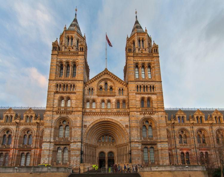 Музей естествознания (Natural History Museum) в Лондоне - достопримечательности Лондона