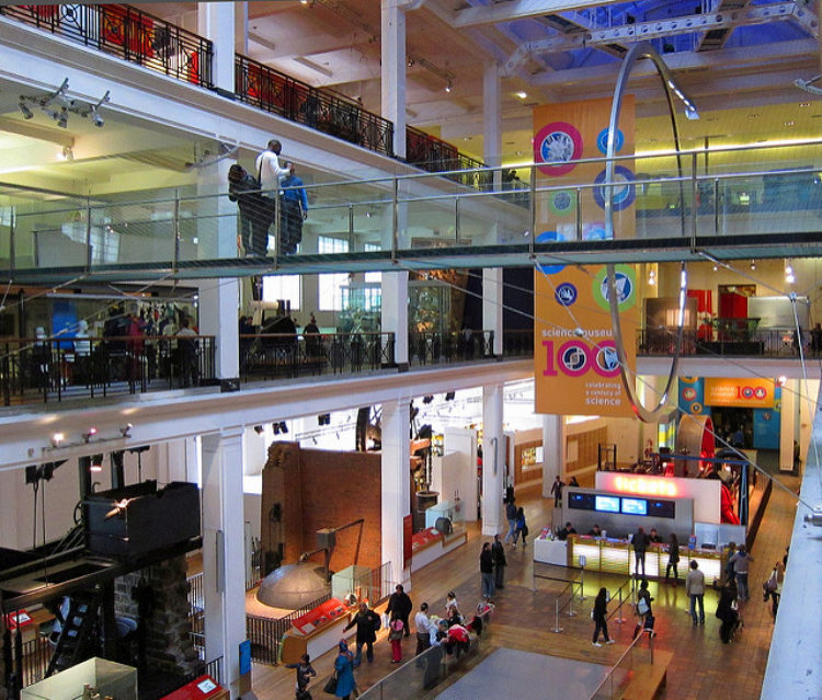 Музей науки (Science Museum) в Лондоне - достопримечательности Лондона, Англия, Великобритания