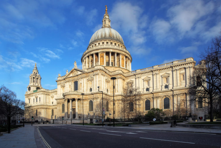 Собор Святого Павла в Лондоне - достопримечательности Лондона, Англия, Велиеобритания