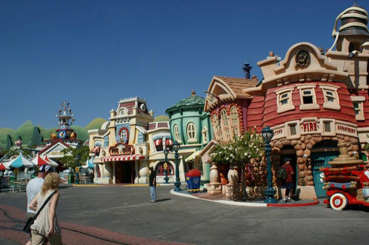 Диснейленд в Лос-Анджелесе - достопримечательности Лос-Анджелеса, Калифорния, США