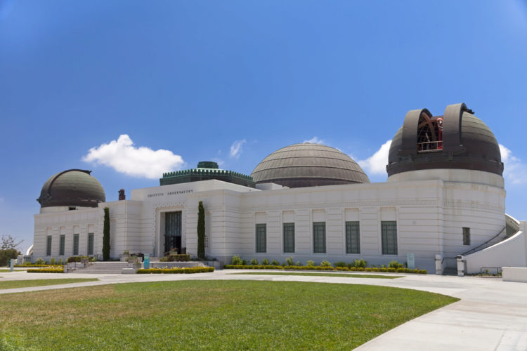 Обсерватория Гриффита в Лос-Анджелесе - достопримечательности Лос-Анджелеса, Калифорния, США