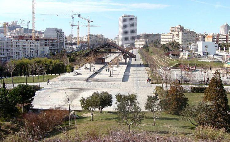 Парк 26-го столетия в Марселе - достопримечательности Марселя, Франция