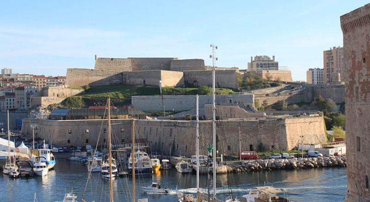 Форт святого Николая (Fort Saint-Nicolas) в Марселе - достопримечательности Марселя, Франция