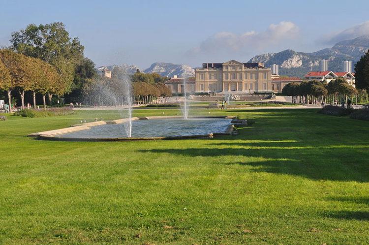 Парк Борели (Parc Borely) в Марселе - достопримечательности Марселя, Франция