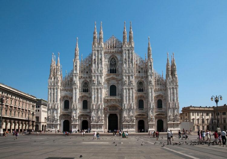 Миланский собор (Duomo di Milano) в Милане - достопримечательности Милана, Италия