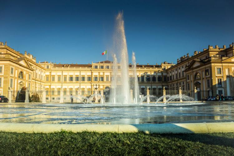 Королевская вилла (Villa Reale di Monza) Монцы - достопримечательности Милана, Италия