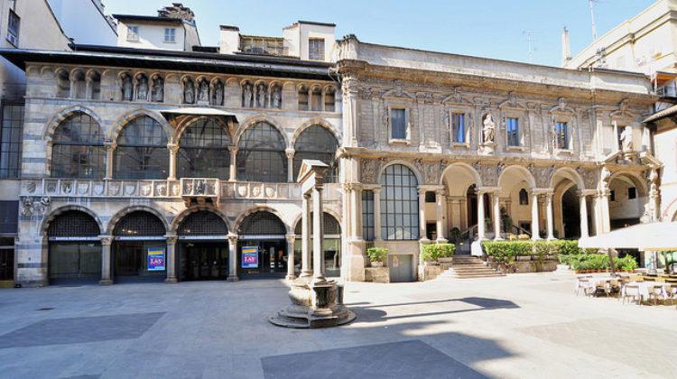 Площадь Мерканти, Пьяцца-дей-Мерканти в Милане - достопримечательности Милана, Италия