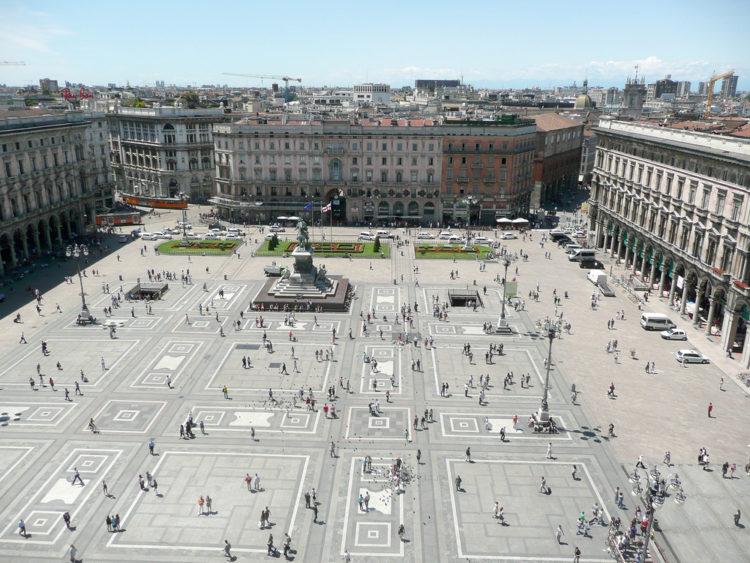 Пьяцца дель Дуомо (Piazza del Duomo) Домская или Соборная площадь - что посмотреть в Милане
