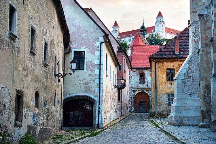 Старый город Братиславы - достопримечательности Братиславы